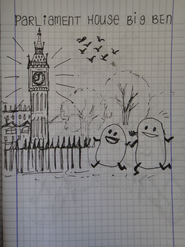 London Doodles (5)