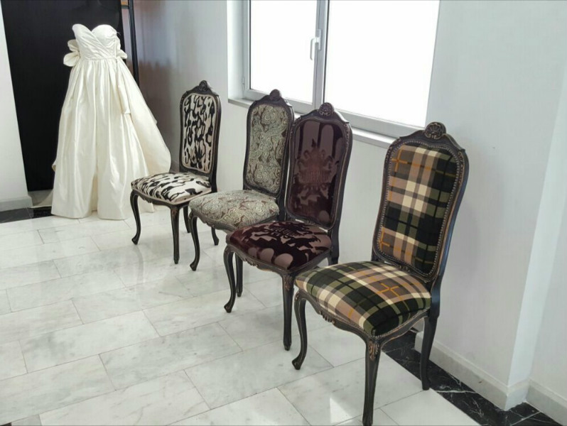 It reminds me that I can re-upholster chairs and make old furniture look a thousand times prettier.